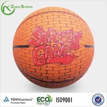 Zhensheng School Children's Favorite Playing Rubber Basketballs Rubber Balls