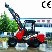 telescopic extend boom wheel loader with ce