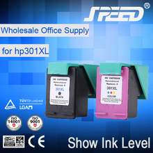 Plastic refill ink cartridge for hp 301--a for wholesales