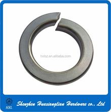 Factory supply DIN 127 stainless steel/brass spring split lock washers