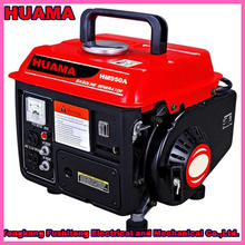 HUAMA 950 Portable Mini Model 2Stroke Gasoline Generator with Power 400W 500W 650W for Home Use