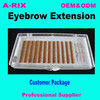 eye brow glue private label korea PBT latex free eyebrow extension false brows 610