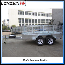 Directly factory offer high quality Truck trailer with cage