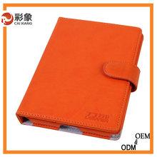 New Fashion Comfortable Great Feeling pu Leather Padding Case for ipad