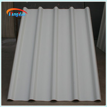 Alibaba 3 layer PVC UPVC corrugated sheet plastic for warehouse roofing