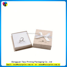 Customized printed Vinyl paper design your own expensive jewelry box