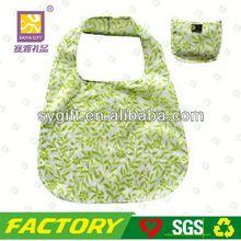 Foldable recycle folding dog shape shopping bag