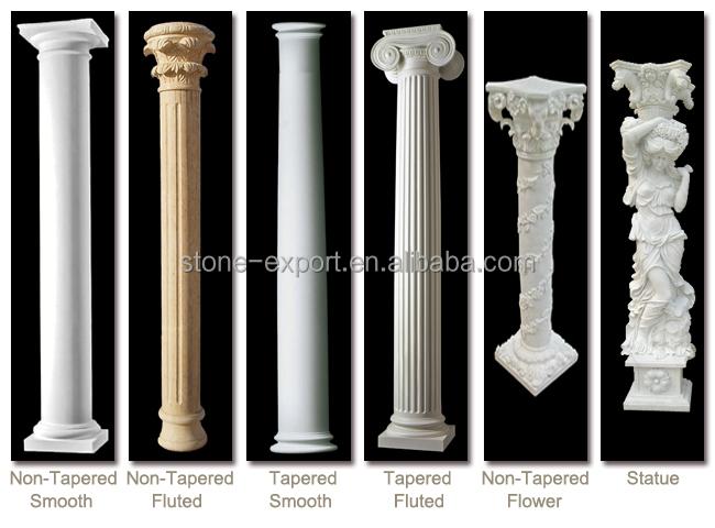 D corative romaine colonne de marbre pilier id de produit for Colonne decorative exterieur