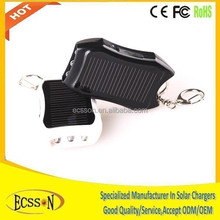 2015 Mini solar panel charger, emergency mobile phone charger with key ring