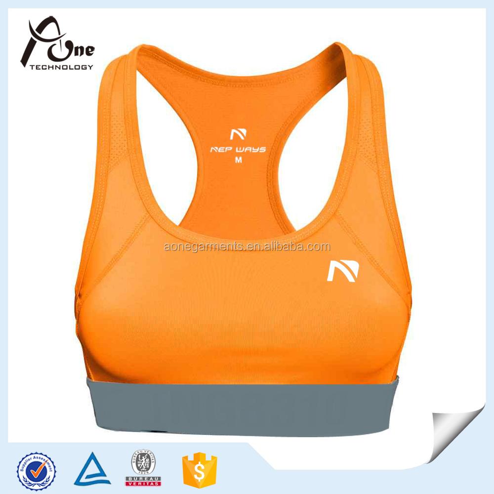 ผู้หญิงออกกำลังกายการออกแบบใหม่ผลักดันยกทรงชุดชั้นในกีฬา