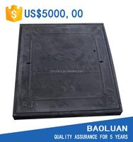 [BAOLUAN]Access Manhole Cover bs EN124 B125 / Sanitary Sewer Manhole Cover/ GRP Manhole Lid