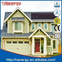 Hanergy solar energy system with competitive price on pitched roof