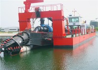 3500 cmb/h Submersible Sand Pump Dredging Machine