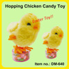 Cut Plush Easter Candy Toy Hopping Chicken