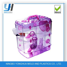 plastic pet cage for hamster