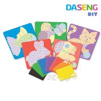 Supply diy mosaic foam materiasl puzzle
