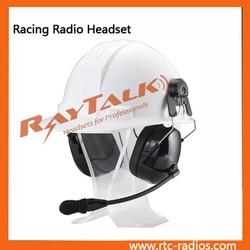 Construction Motorcycle helmet intercom headset for Motorola CP200