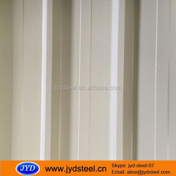 Long span 680mm width Diamond embossed color coated metal roofing tile/PPGI/PPGL Steel roofing sheet