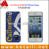 China Made Water Imprint PC Cell Phone Case for iPhone 5S