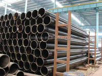 API 5L PSL2 X52 3PE ERW Steel Pipe for Oil and Gas, Beveled / plain ends