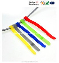 durable velcro cable strap hook and loop tape magic tape cable ties wire fastener
