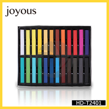 Joyous Easy Cleans up with soap Non-toxic various bright colors temporary hair dye hair chalk