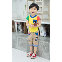 Boys Clothing Sets Children Casual Shorts Korean Summer Children Clothing Set ZZJ-CO-135