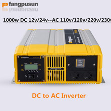Pure sine wave output 1kw dc to ac inverter for solar off grid system