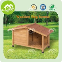 Cheap dog houses, Dog Cat Kennel Wooden Log Cabin Wood Pet House Indoor Outdoor