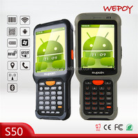 IP67 big screen wireless Android os laser cheap nfc mobile phone with good price
