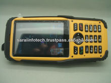 Industrial PDA handheld computer Android 4.1 with 5.0 MP Camera & virtual QWERTY keyboard