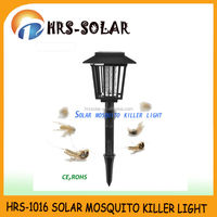 Outdoor pest control bug zapper solar insect light trap