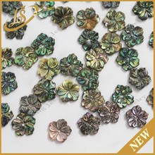 factory price blue Abalone Shell Flower hot sale