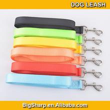 Colourful high quality Custom Design Nylon Woven Big Dog Leash 2.5cm width 120cm lenngth NL-2514