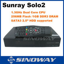 Fast speed PVR 1300 MHz Enigma2 Linux HD twin tuner DVB-S2 support Openpli /black hole sunray solo2 digi sat receiver