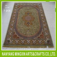 2015090314 turkish design top quality 470kpsi pure natrual mulberry silk on silk persian handknotted carpet