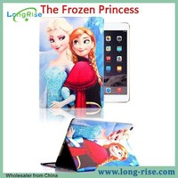 Frozen Cartoon Design Wake Up Smart Tablet Cover for Apple iPad Air 2