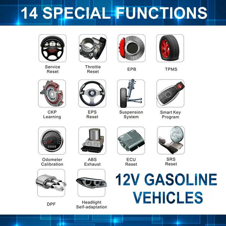 12v carros a gasolina, 24v caminhão, mercedes benz, vw, iveco, daf, kenworth, FCAR F3-G fcar scanner de diagnóstico auto