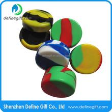 2015 Hot Sale Multi Color Non Stick Silicone Container Concentrate Oil