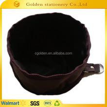 2015 waterproof 600D oxford dog water bowl waterproof bowl foldable bowl