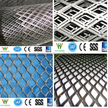 Diamond Shape Black Expanded Wire Mesh Manufacture