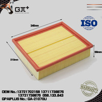 High quality car engine parts air filter 90 443 103 auto parts for Audi