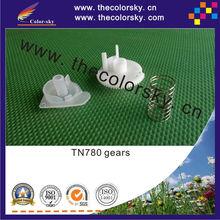 (ACC-TN780-3) flaging flag gear with spring for Brother TN-780 TN-3380 TN-3392 HL 6180DW MFC 8950DW Free FedEx