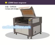 YAG laser engraving machine LG900 paper industry engraving machine laser cut wood decor