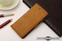 High quality retro flip cover wallet leather case for iphone 6