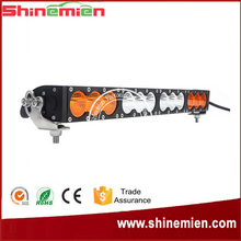 """22"""" 120W CR EE LED Driving Work Light Bar Amber +White Clear Lens Offroad SUV ATV 4WD 4x4 Spot / Flood /Combo Beam"""