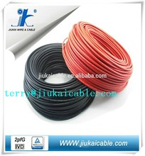 tuv approved 6mm2 dc solar cable solar energy panels