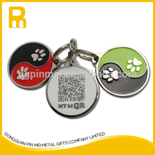 New market and technology qr code pet id tags Dog tags with individual id code for dogs made in China
