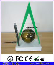 Pen holder Office gift items office stationery gift set with floating globe