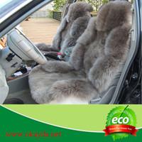 full set sheepskinskin auto car seat cover